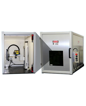Class 1 Laser Safety Enclosure